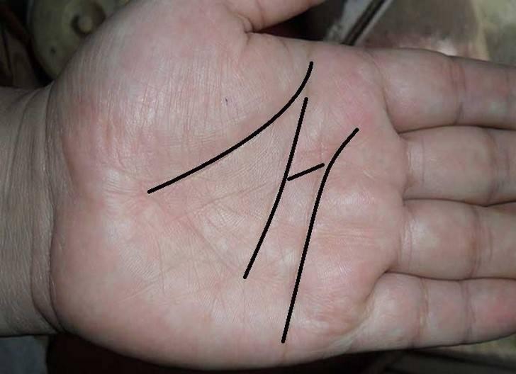 """Qué significa tener una \""""M\"""" en la palma de la mano"""