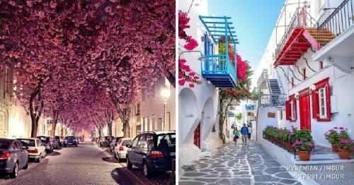 24+ fotos de las calles más bonitas del mundo - querrás caminar en ellas aho..