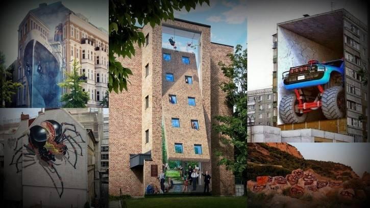 24+ fotografías de arte urbano que mezclan la fantasía y realidad ¡sorprend..