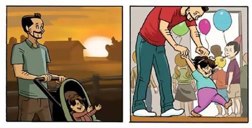 Esta historieta sobre el ciclo de la vida te sacará más de una lágrima