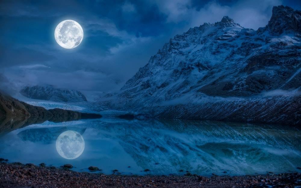 Estas imágenes te muestran la luna como nunca antes la viste