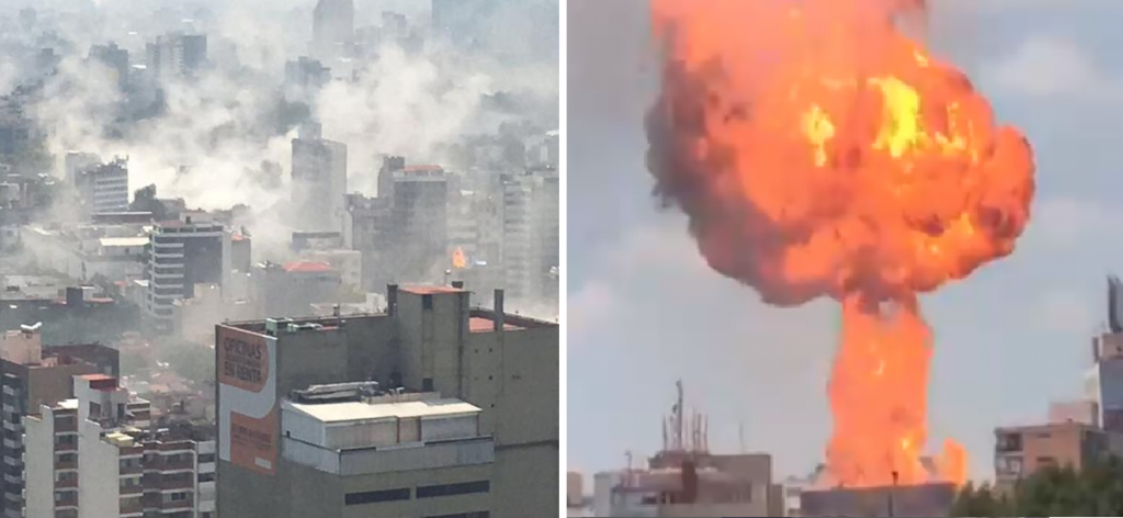Vídeo: momento exacto del terremoto en méxico