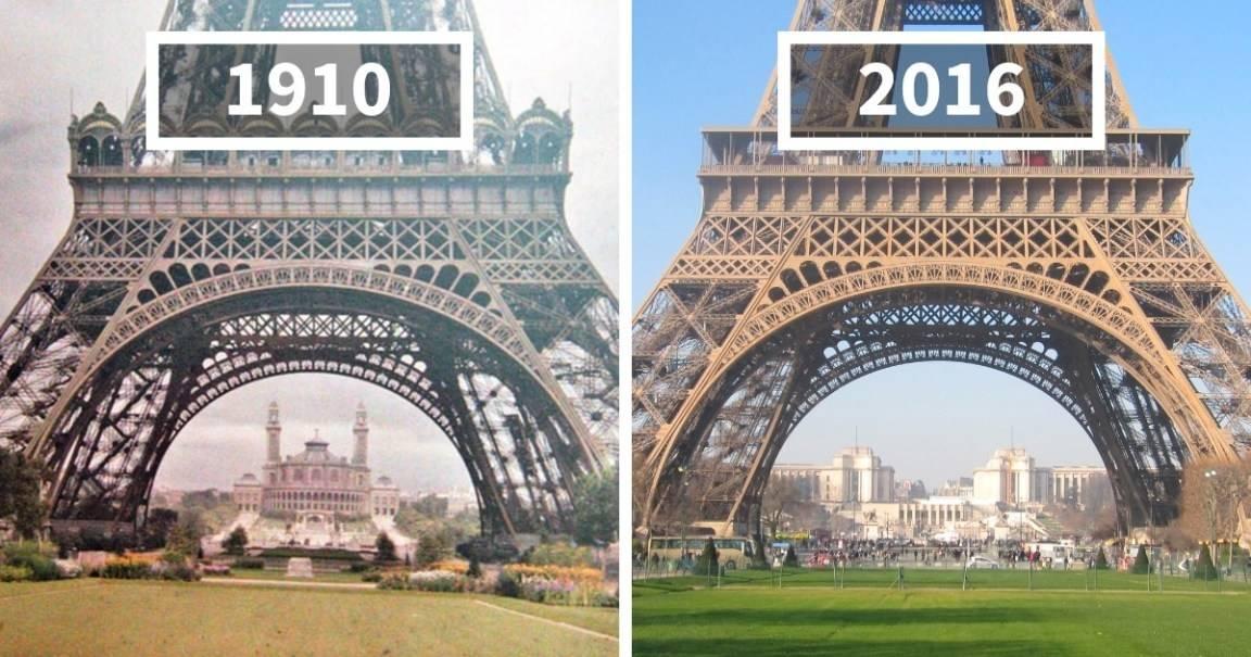 """25+ fotos del """"antes y después"""" que muestran como cambió el mundo en poco ti.."""