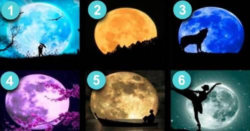 Lo que podemos descubrir  través de la luna sobre nuestra personalidad