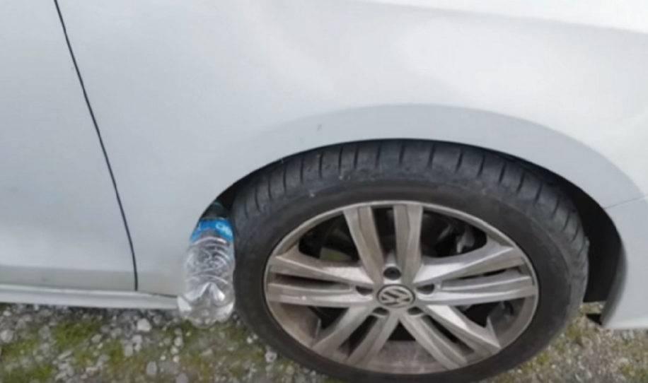 Nueva advertencia: si ves una botella de plástico en tu auto, quizá estés e..