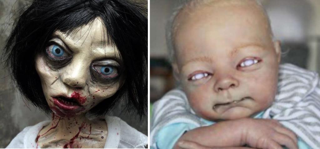11+ fotos de muñecas más terroríficas que verás en tu vida