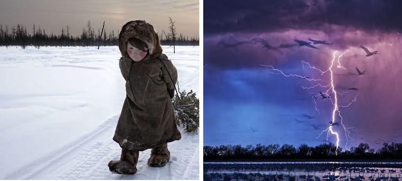 Estas son las 10 mejores fotografías capturadas en el 2017 según premios int..
