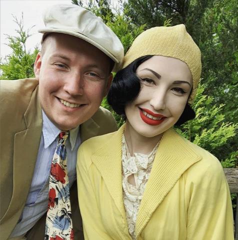 ¡Sorprendente! Esta pareja vive en los años treinta