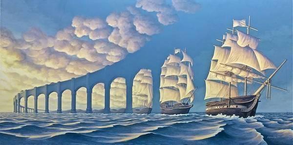 21+ pinturas con ilusión óptica que harán explotar tu cabeza