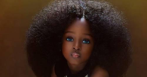 """Esta pequeña es nombrada como \""""la niña más bella del mundo\"""""""