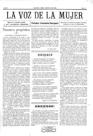 """¿Un periódico feminista y latinoamericano que habló de """"amor libre"""" hace 123 años?"""