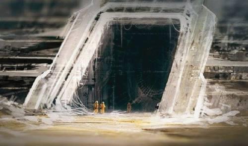 +fotos de gigantescos túneles de 12,000 años de antigüedad en europa podrí..