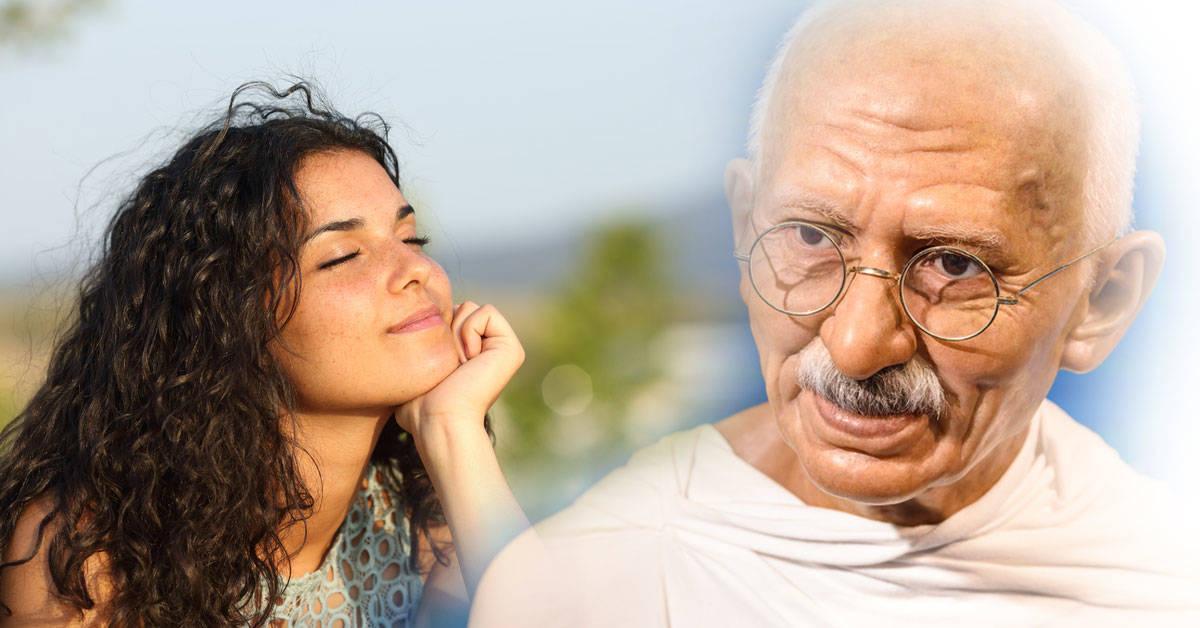 Lo que Gandhi le enseñó a su propio maestro es algo que puede cambiarte la vida
