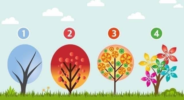Elige un árbol y descubre qué emoción te domina