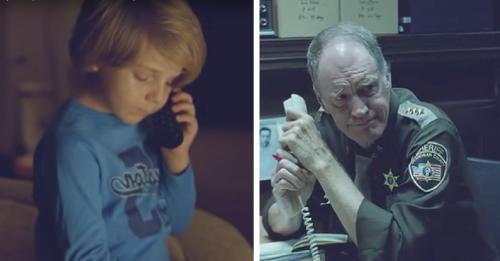 Este niño llama a un oficial preocupado porque su madre no regresaba del ciel..